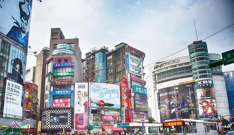 台湾台北西门町景点图片