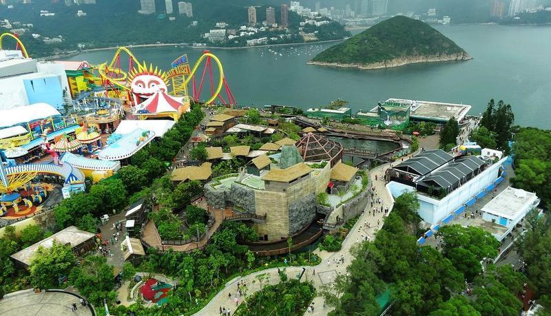 香港海洋公园 之 风景风景图片