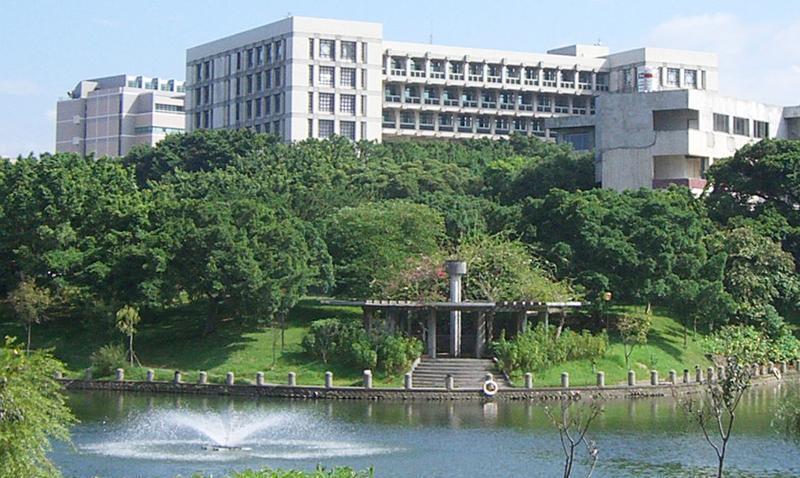 台湾新竹交通大学校园风光景点图片
