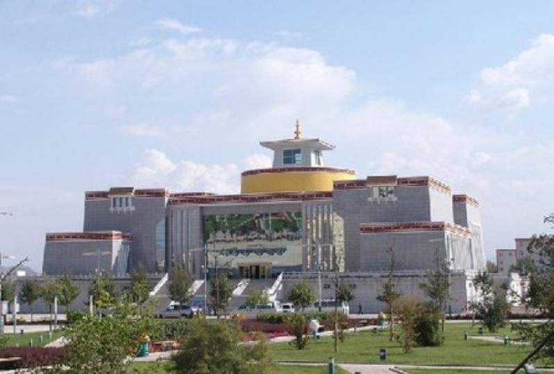 青海藏医药文化博物馆旅游风景图片