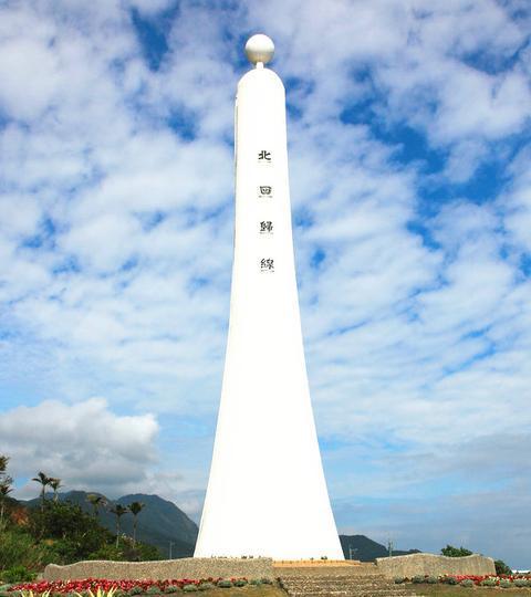 北回归线纪念塔景点图片