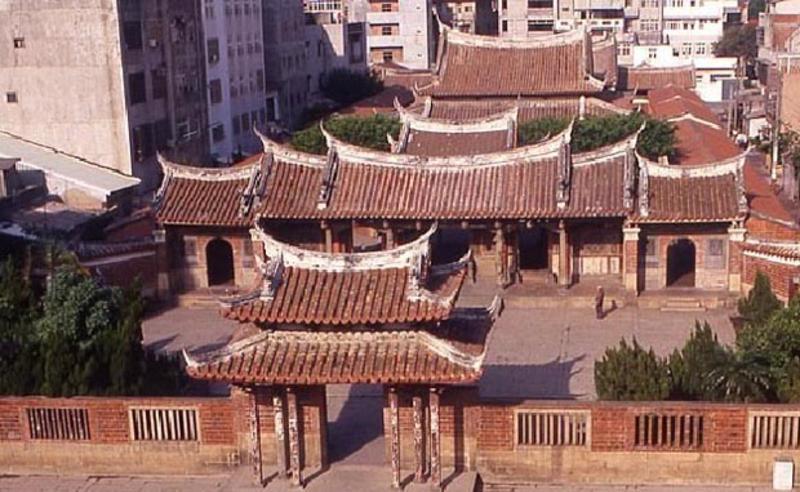 台湾鹿港龙山寺景点图片