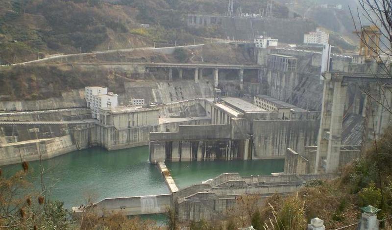 陕西安康水电站