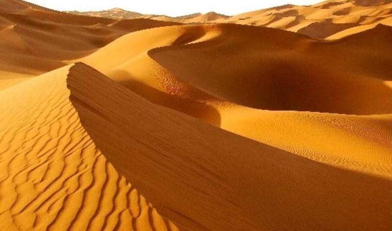 库木塔格沙漠公园景点图片